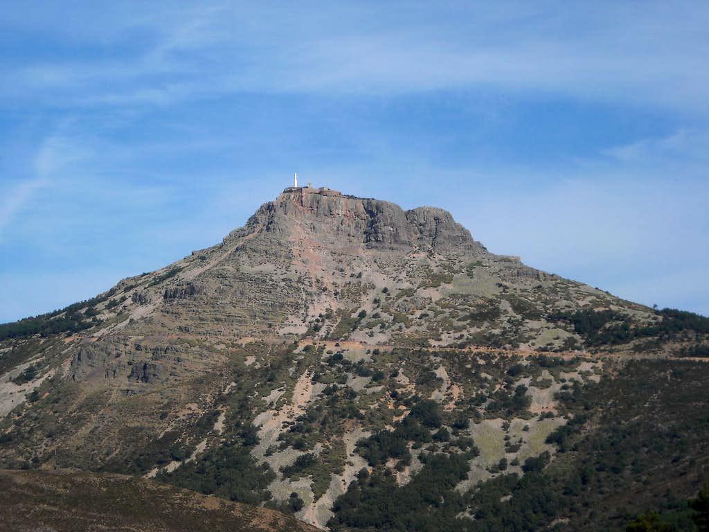 Peña de Francia from La Alberca