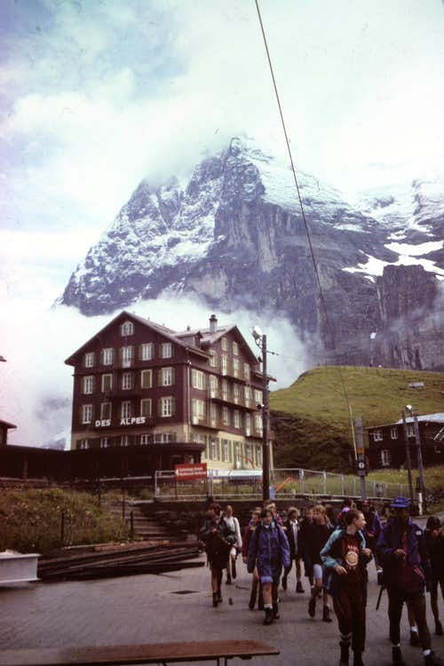 Eiger in 1995