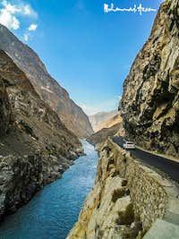 Skardu Road Between Gilgit and Skardu