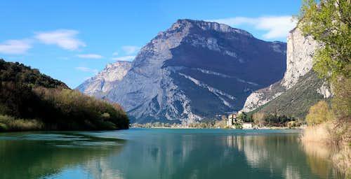 Toblino lake biotope