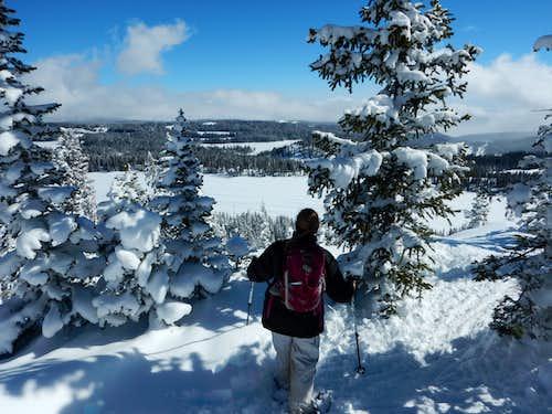Snowshoeing on Grand Mesa