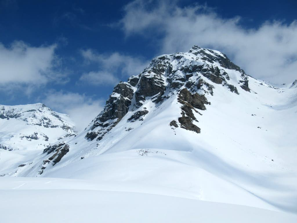 Gran Cima from Perrin Pass