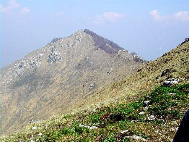 from the final ridge, a...