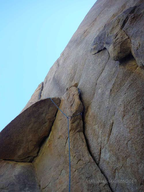 I get by with a Little Help from my Friends, 5.10a**