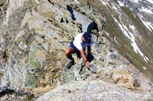 Nera di Planavalle Retourning to Southern Summit