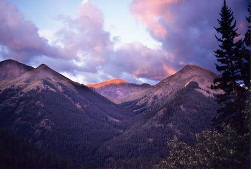 Handies Peak from Silver...