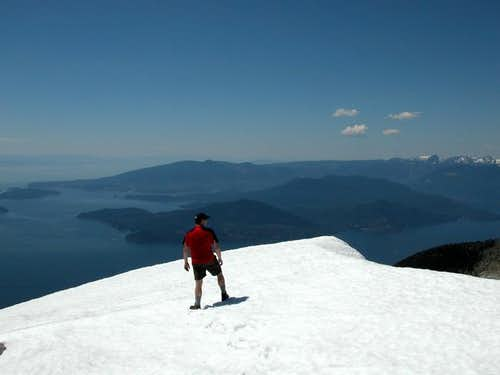 Summit of West Lion on a...