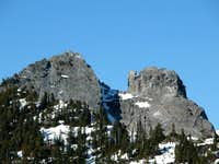 Crown Mountain and the Camel...