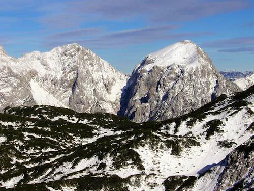 On the left Turska gora and...