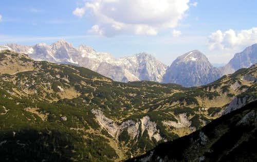 The panorama of Brana and its...