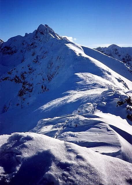 Ridge towards Swinica(2301)...