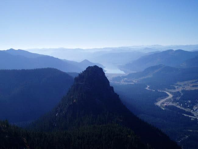 Guye Peak from the trail,...