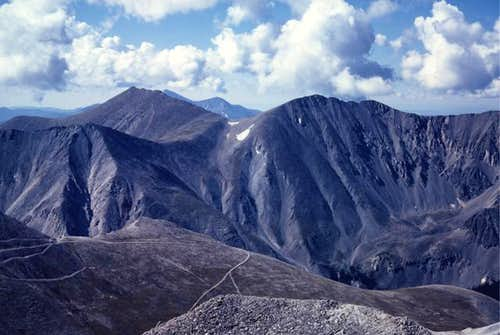 Mt. Shavano and Tabequache...