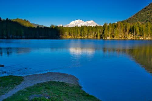 The Hintersee lake