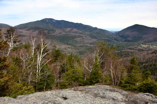 More of the view south-southeast from Snow Mountain
