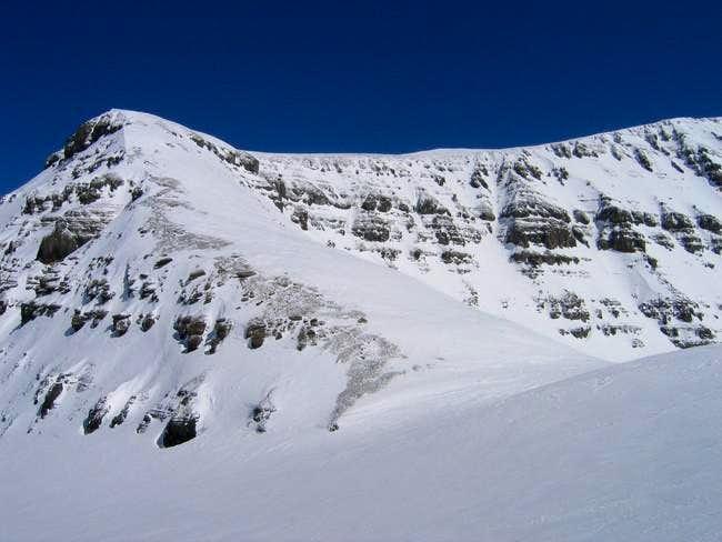 The SW Ridge of Andromeda, we...