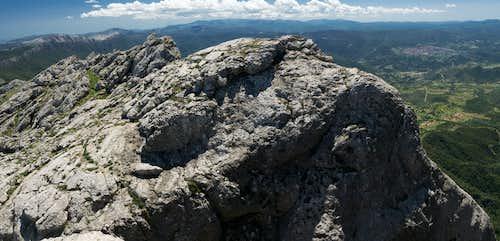 Monte Corrasi south summits