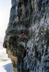Cassin's route to Cima Ovest...