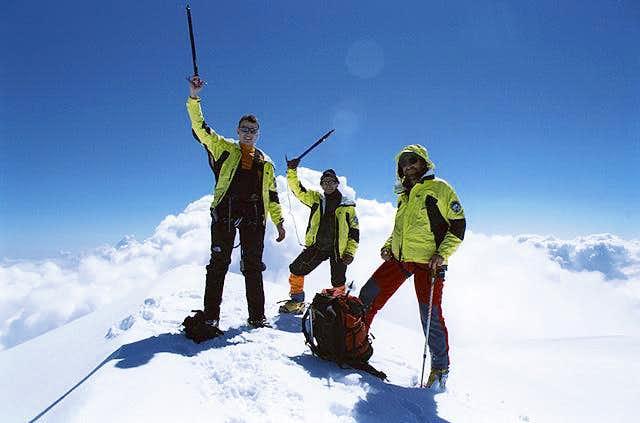 On the Summit of Kazbek (5033...