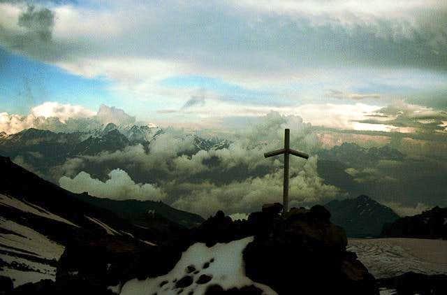 Georgian orthodox cross on...