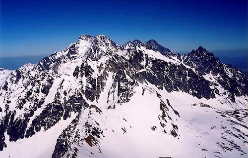 Eastern Part of High Tatras...