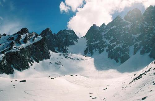 East Couloir (view from the...