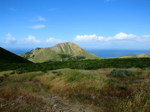 East face of Valencia Peak