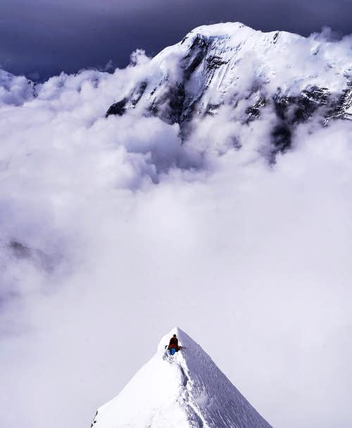 6500m on Annapurna's Dutch Rib