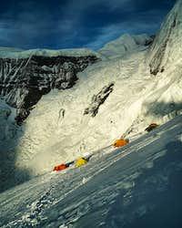 Camp 2 on Annapurna North Fcae