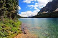 Boom Lake & Mountain