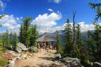Trail near L. Agnes