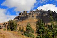 Dolomite Mountain Alberta