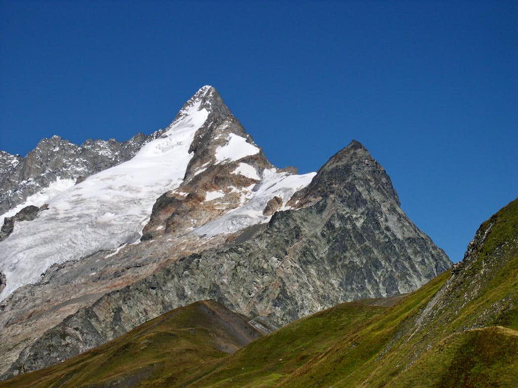Mont Dolent from Vallone di Combette