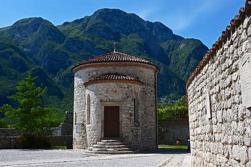 Monte San Simeone from Venzone