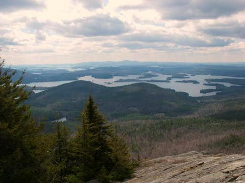 Squam Lake from the summit of...
