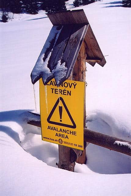Stop !!! Avalanches !!!