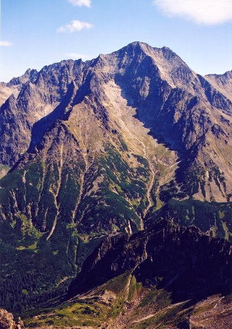 Ladovy Peak(2628) seen from...