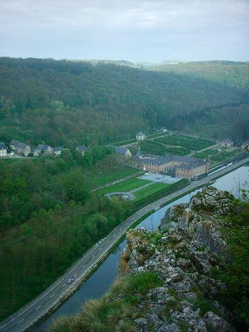 Top ridge of the Freyr massief