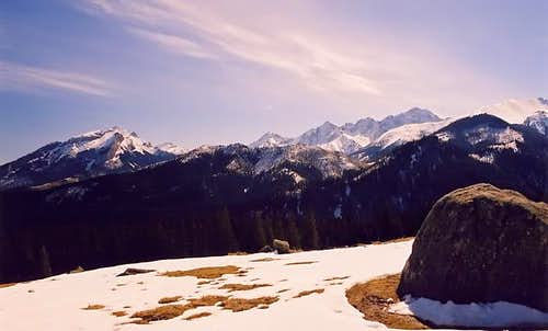Ladovy Peak(2628) from...