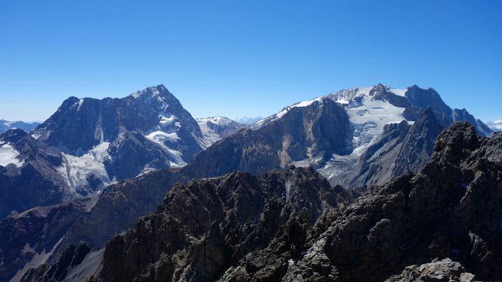 Cerro Morado from Cerro Placas