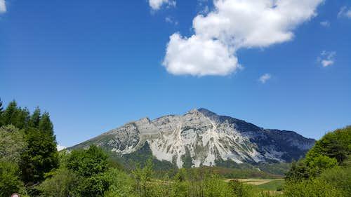 Monte Stivo East side