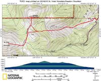 This topo map shows our combo...
