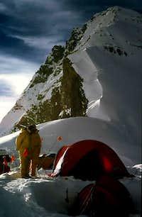 Everest's North Col 7000m....