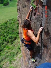 nice sandstone climb