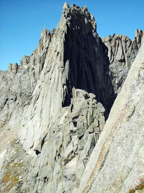 The Wolf\'s Head East Ridge...