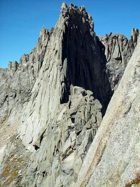 The Wolf's Head East Ridge...