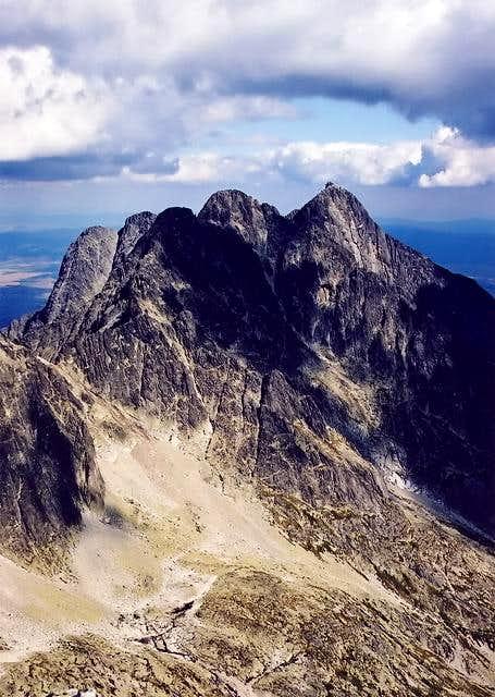 Ladovy Stit(2628) summit view...