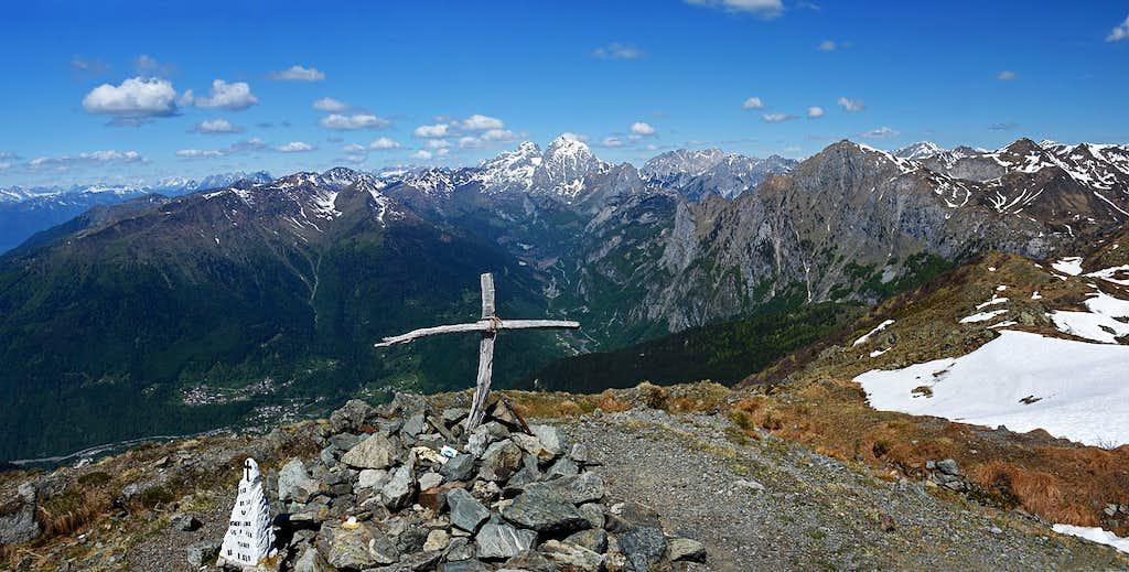 Monte Paularo W views