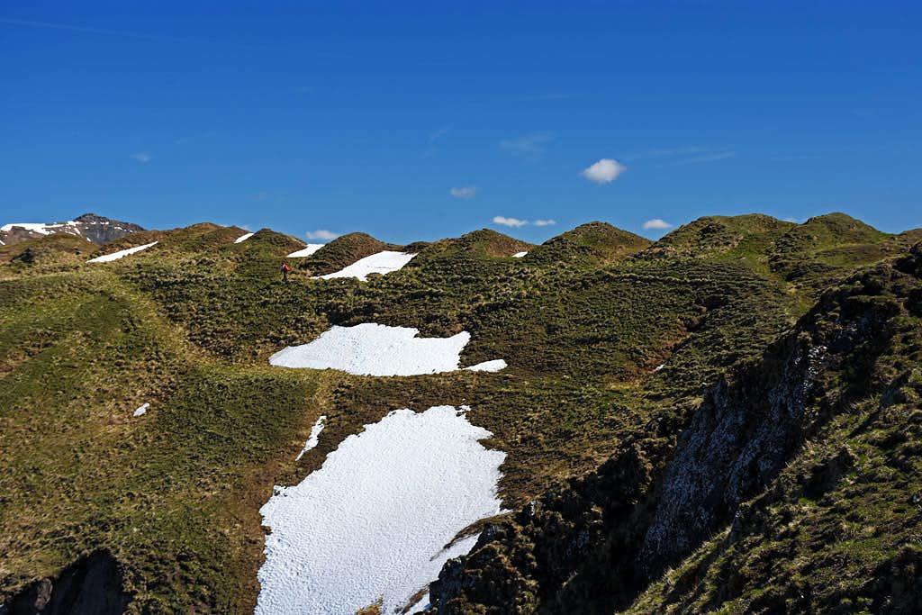 Monte Dimon summit ridge