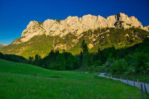 Alphorn and Wartsteinkante, Reiteralpe, Berchtesgaden Alps